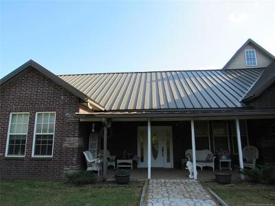 Bristow Single Family Home For Sale: 24904 W 221st Street S