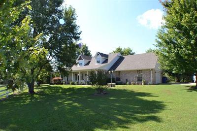 Coweta Single Family Home For Sale: 10556 S 273rd East Avenue