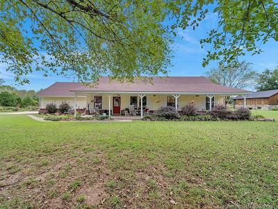 Claremore Single Family Home For Sale: 20606 S Ridgefield Circle