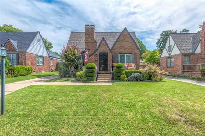 Tulsa Single Family Home For Sale: 1519 S Delaware Place