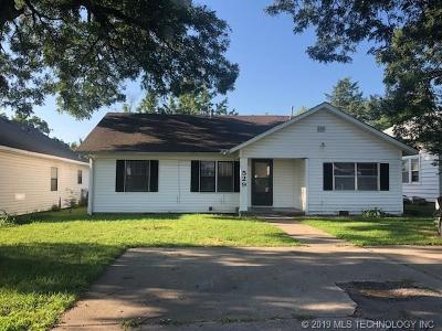 Ada Single Family Home For Sale: 529 W 18th Street