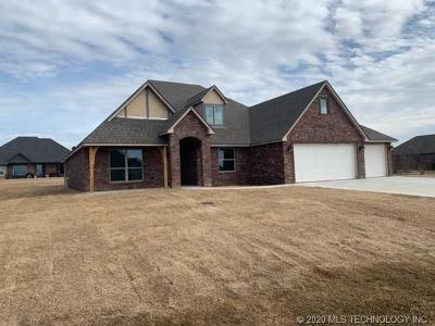 Skiatook Single Family Home For Sale: 12905 N 41st East Avenue