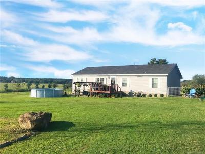 Stigler Single Family Home For Sale: 10396 N Perry Loop
