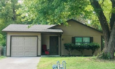Claremore OK Single Family Home For Sale: $77,500