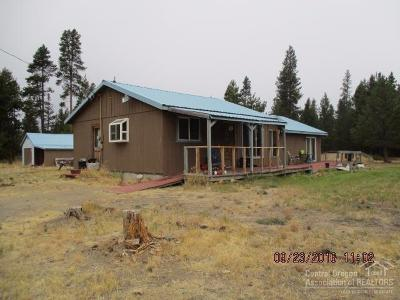 La Pine Single Family Home For Sale: 16598 Reed Road