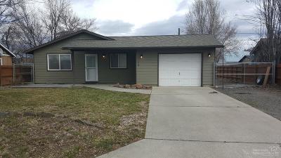 Prineville Single Family Home Shrtsale-Bringbckups: 758 Northwest Ewen Street