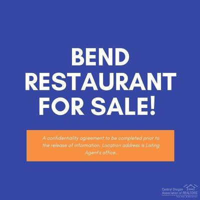 Bend Business Opportunity For Sale: 121 Northwest Greenwood Avenue