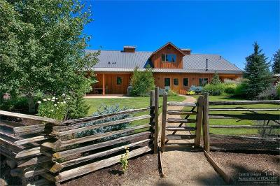 Bend, La Pine, Crescent Lake, Gilchrist Single Family Home For Sale: 18650 Bull Springs Road