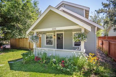 Bend Single Family Home For Sale: 1205 Northwest Davenport Avenue