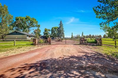 Bend Farm & Ranch For Sale: 22333 Nelson Road