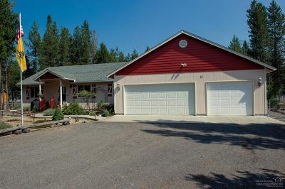La Pine Single Family Home For Sale: 145131 Corral Ct.