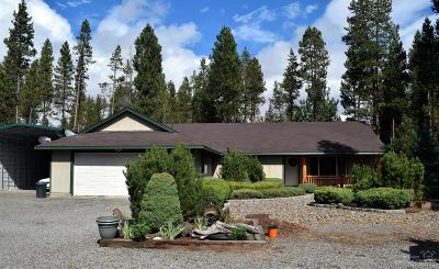 La Pine Single Family Home For Sale: 51908 Cultus