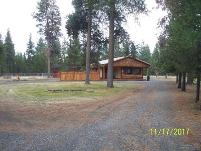 La Pine Single Family Home For Sale: 16695 Burgess Road