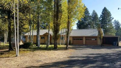 La Pine Single Family Home For Sale: 52306 Pine Forest Drive