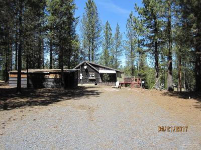 La Pine Single Family Home For Sale: 51918 Old Wickiup