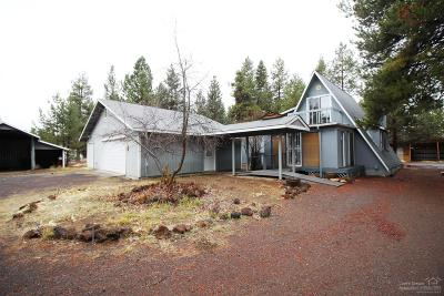 La Pine Single Family Home For Sale: 52235 Caribou Road