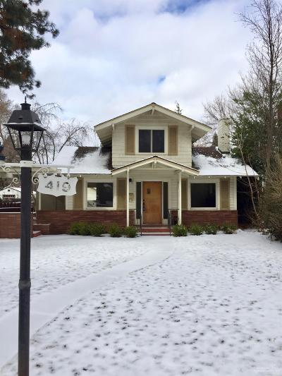 Bend Single Family Home For Sale: 419 Northwest Congress Street