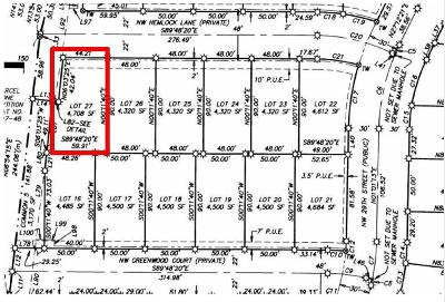 Redmond Residential Lots & Land For Sale: 2996 Northwest Hemlock Lane