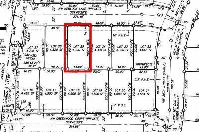 Redmond Residential Lots & Land For Sale: 2972 Northwest Hemlock Lane