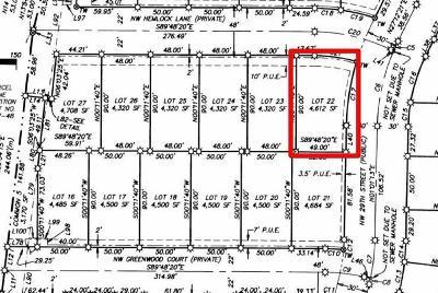 Redmond Residential Lots & Land For Sale: 22 Northwest Hemlock Lane