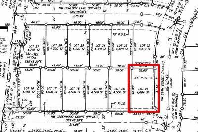 Redmond Residential Lots & Land For Sale: 21 Northwest Greenwood Court