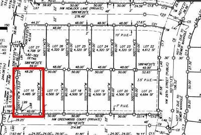 Redmond Residential Lots & Land For Sale: 16 Northwest Greenwood Court