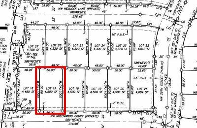 Redmond Residential Lots & Land For Sale: 17 Northwest Greenwood Court
