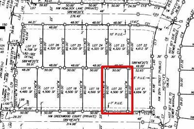 Redmond Residential Lots & Land For Sale: 20 Northwest Greenwood Court