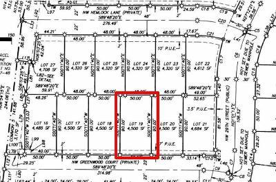 Redmond Residential Lots & Land For Sale: 19 Northwest Greenwood Court
