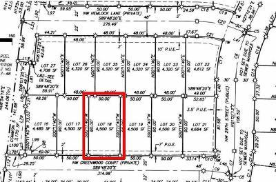 Redmond Residential Lots & Land For Sale: 18 Northwest Greenwood Court
