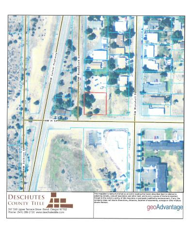 Madras Residential Lots & Land For Sale: 436 Southwest H Street