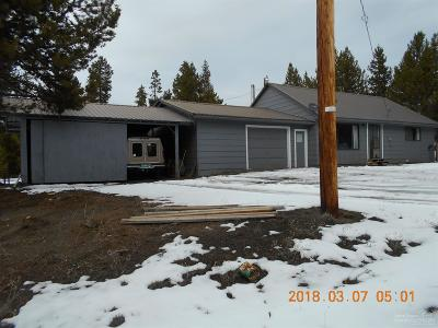 La Pine OR Single Family Home Sold: $185,000