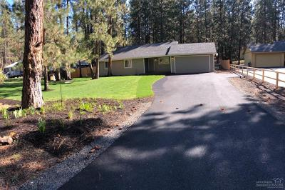 Bend Single Family Home For Sale: 60090 Southwest Agate Drive