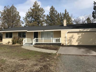 Single Family Home For Sale: 63220 Ob Riley Road