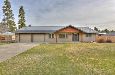 La Pine Single Family Home For Sale: 16025 Sunset Lane