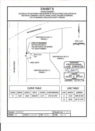 Redmond Residential Lots & Land Contingent Bumpable: 33rd Street