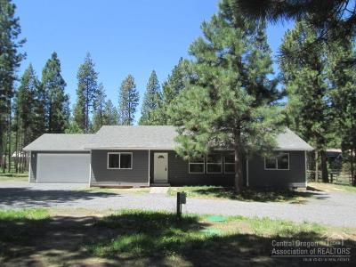 La Pine Single Family Home For Sale: 51463 Jory Road