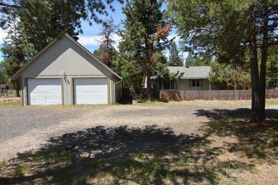 Bend Single Family Home For Sale: 54965 Tamarack Road