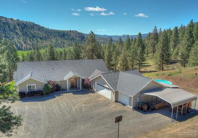 Prineville Single Family Home For Sale: 7601 Northeast Mill Creek Road