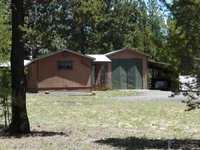 La Pine Single Family Home For Sale: 50792 South Fawn Drive