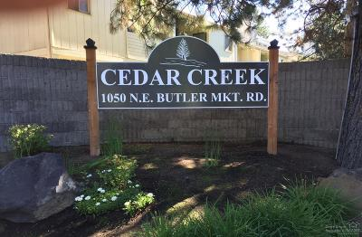 Bend Condo/Townhouse For Sale: 1050 Northeast Butler Market Road #39