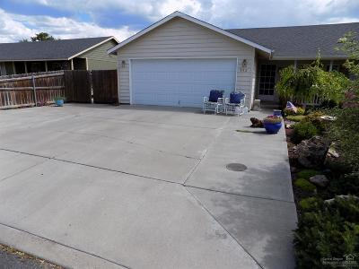 Prineville OR Single Family Home Contingent Bumpable: $239,000