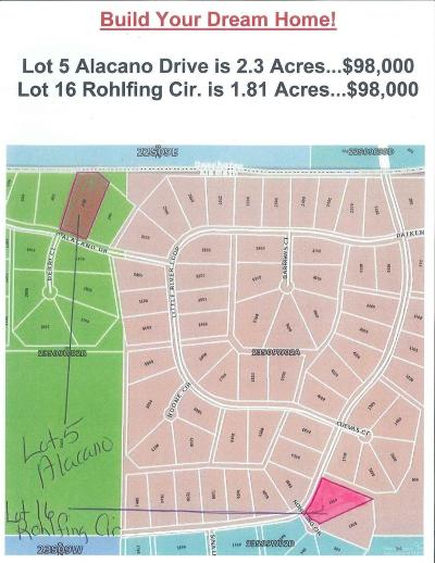 La Pine Residential Lots & Land For Sale: 16 Rohlfing Circle