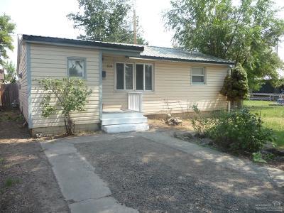 Prineville Single Family Home For Sale: 828 Northwest Ewen Street