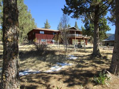 Prineville Single Family Home For Sale: 12550 Northwest Grizzly Mountain Road
