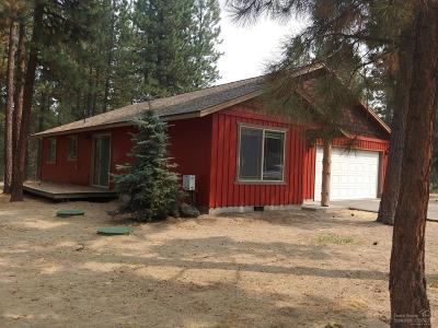 La Pine Single Family Home Contingent Bumpable: 51690 Dorrance Meadow Road