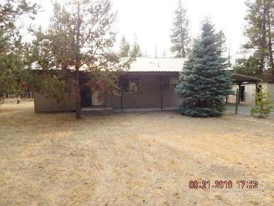 La Pine OR Single Family Home Sold: $86,625