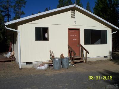 La Pine OR Single Family Home Sold: $169,000