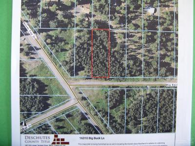 Bend Residential Lots & Land For Sale: 16310 Big Buck Lane