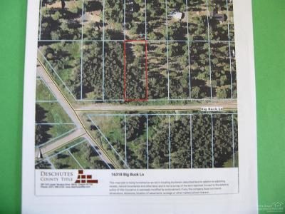 Bend Residential Lots & Land For Sale: 16318 Big Buck Lane